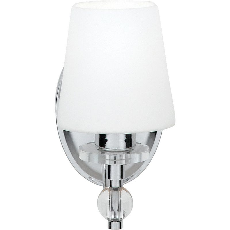 View The Quoizel HS Hollister Light Wide Reversible - Polished chrome bathroom sconces