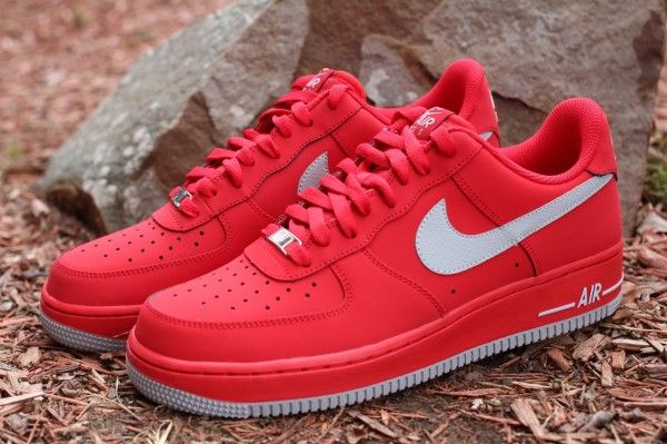 new styles 0115a 6c3ff Nike Air Force 1 Low - University Red Strata Grey   Sole Collector