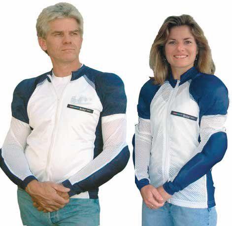 3af918ae6ed Save $ 10 order now Bohn Bodyguard Airtex Shirt – Blue / White – Med ...
