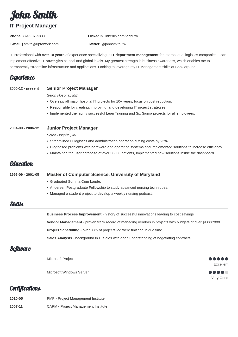 A Professional Resume Template For A General Manager And Business Analyst Want It Download I Business Analyst Resume Business Resume Business Resume Template