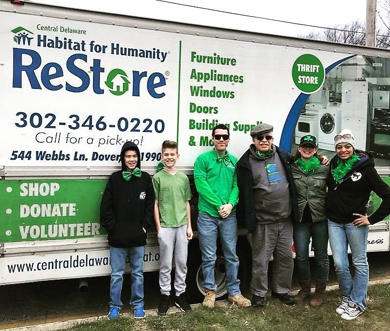 Pin By Central Delaware Habitat For H On Cdhfh Fun Habitat For Humanity Appliance Store Furniture Restoration