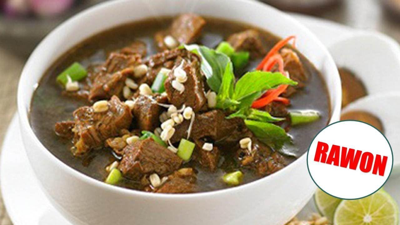 Resep Rawon Enak Mudah Praktis Dan Sederhana Resep Masakan Indonesia Resep Masakan Resep Resep Makanan