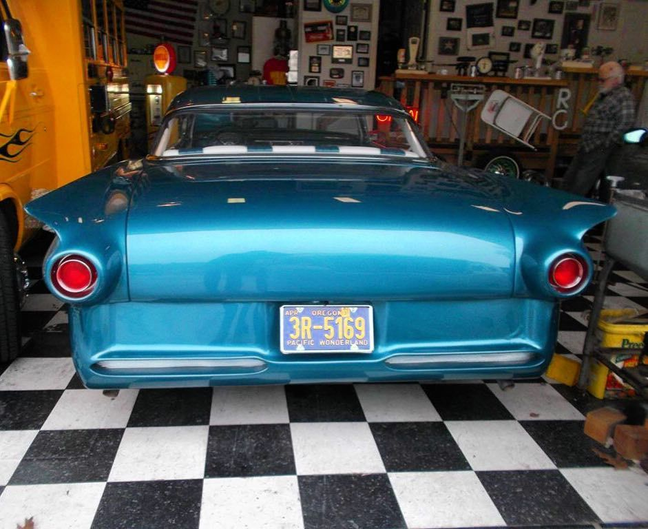 Craigslist Portland Oregon Cars Trucks Owner >> A Rear End Shot Of John Rudisill S 1957fordcustom The Old