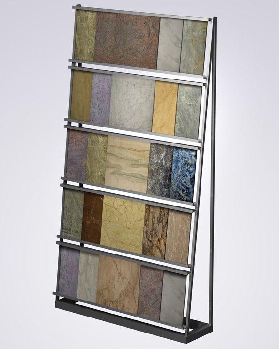 Shelf Unit Tile Display For Loose Tiles, Tile Sample