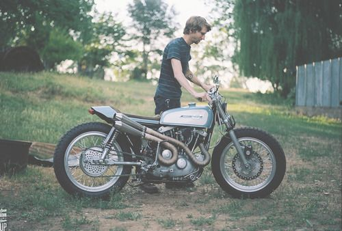 globish: Harley Ironhead Sportster byonedownfourupmotorcycles