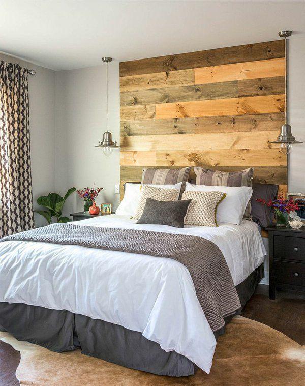 schlafzimmer pendelleuchten kopfteil bett holz design Carriage - schlafzimmer aus holz design ideen bilder