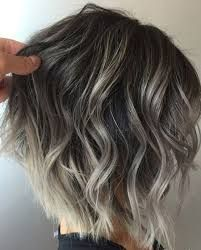 Image Result For Dark Brown Hair With Silver Highlights In