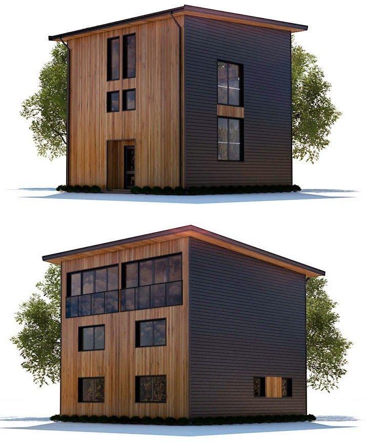Planos De Casa 3 Pisos Moderna Pequena Planos De Casas Casa De