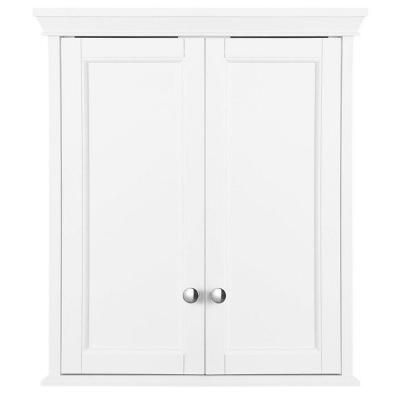 Home Decorators Collection Haven 23 63 In W X 27 1 2 In H X 8 In D Bathroom Storage Wall Cabinet In White Trww2428 Wall Storage Cabinets Bathroom Wall Cabinets White Bathroom Wall Storage