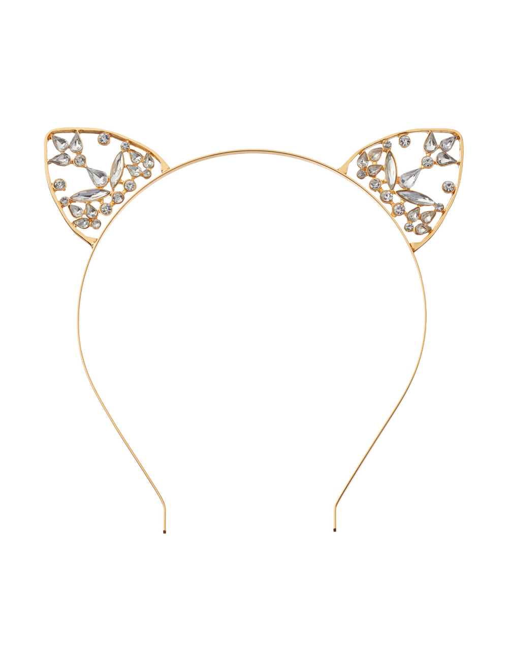 Hannah Embellished Cat Ear Headband Stage Stores Cat Ear Headband Women Accessories Jewelry Ear Headbands