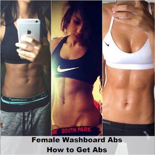 Female washboard abs how to get abs become sexy and fit female washboard abs how to get abs ccuart Images