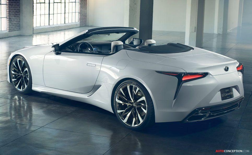 2019 Lexus LC Convertible Concept Automóvil conceptual