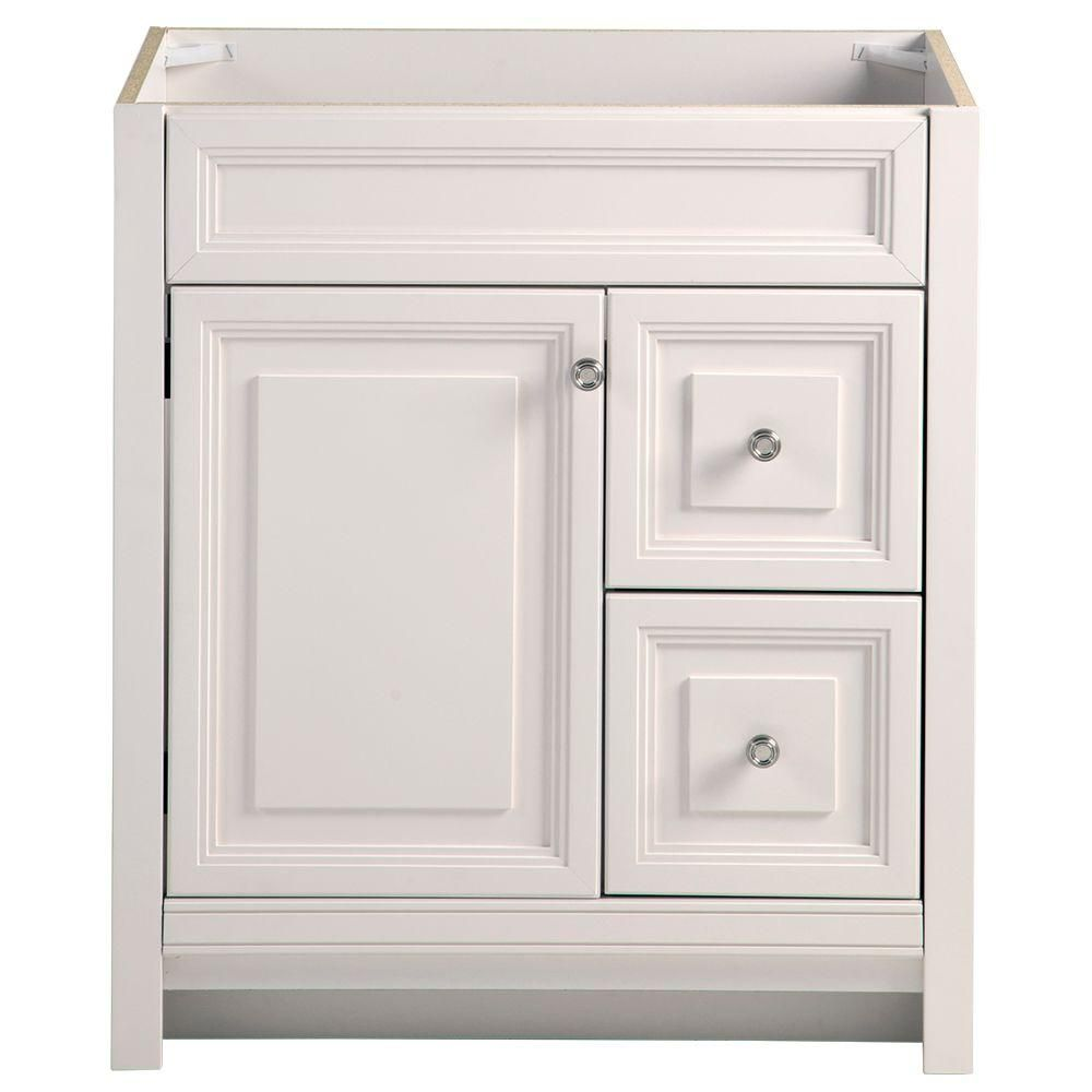 home decorators collection brinkhill 30 in w bath vanity cabinet only in cream