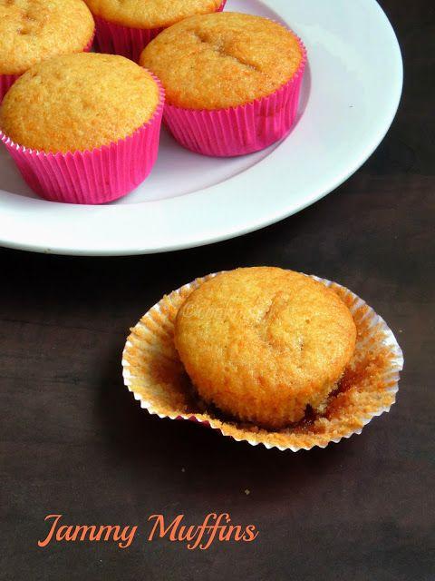 Jammy Muffins/Jam Filled Muffins