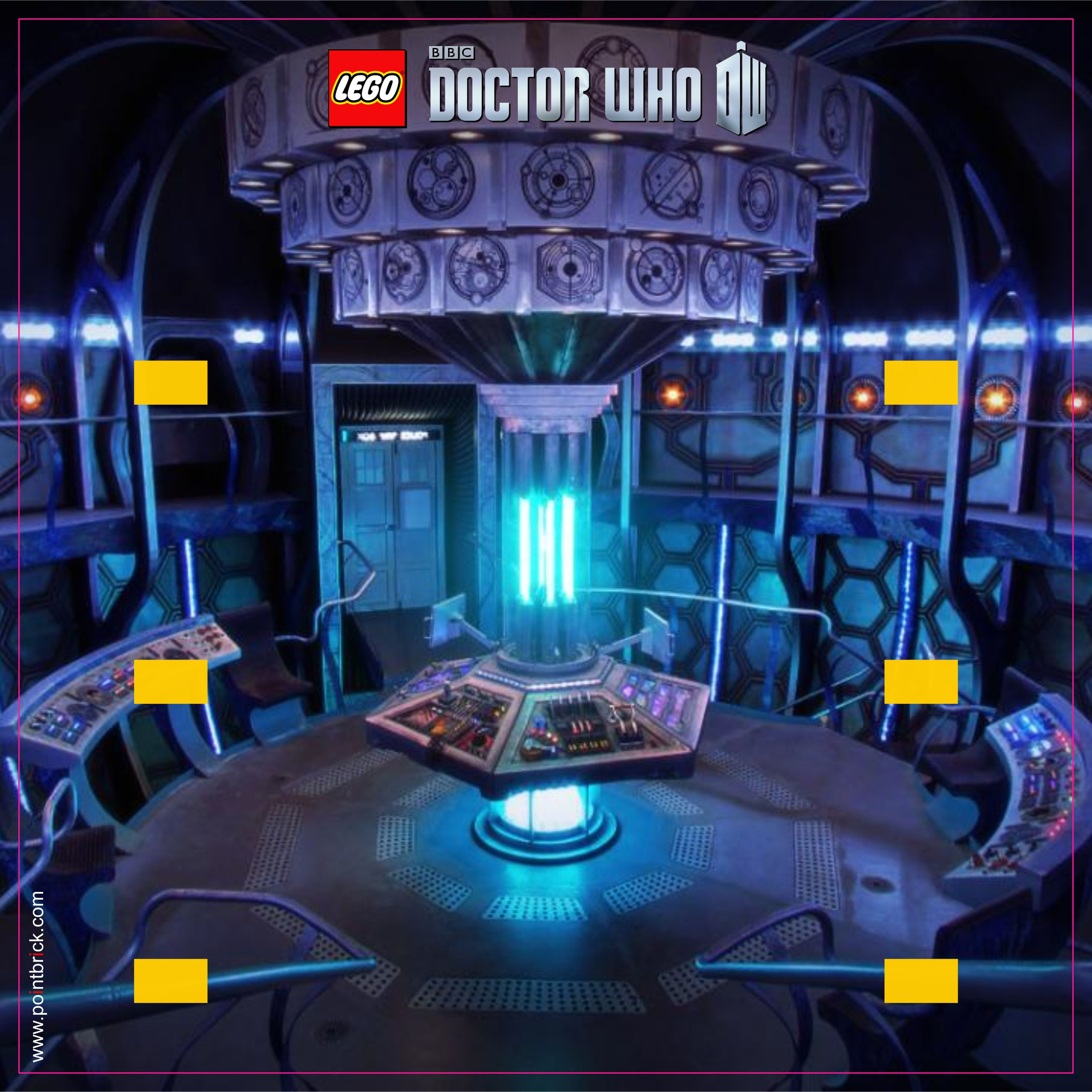 LEGO Minifigures Display Frame - Background 230mm Doctor Who - TARDIS INSIDE - Clicca sull'immagine per scaricarla gratuitamente!