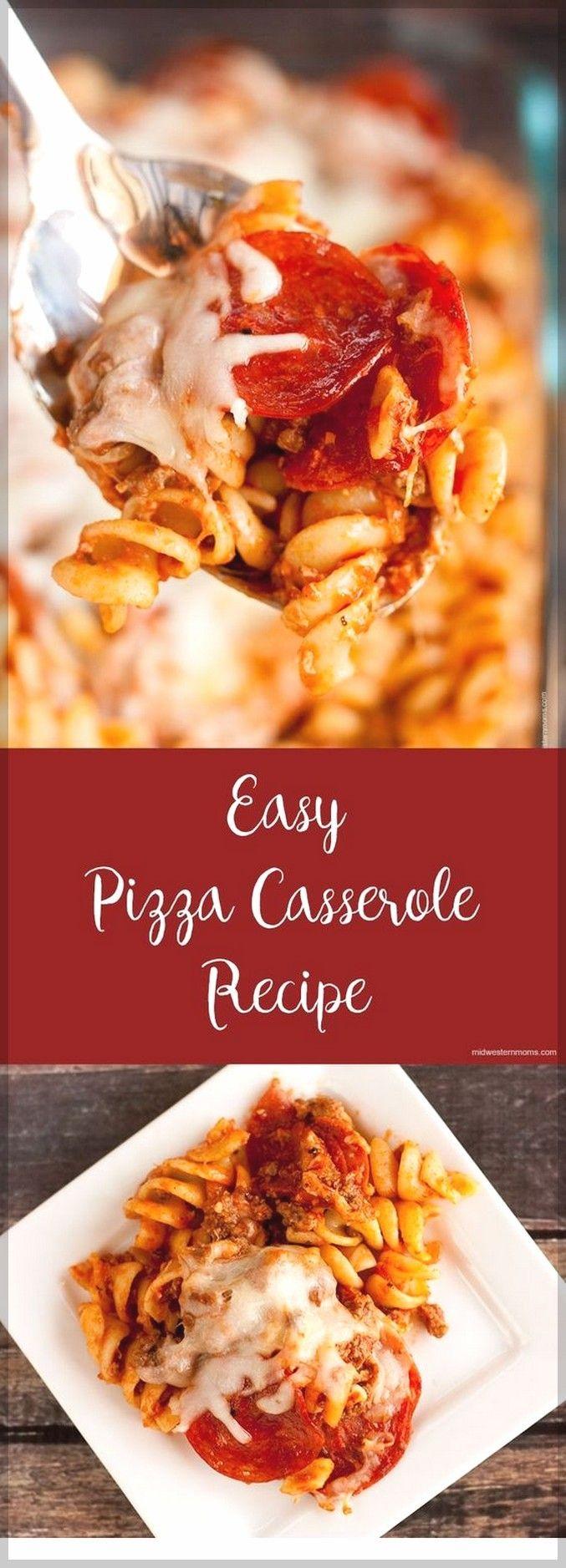 Easy Pizza Casserole Recipe  Easy Casserole Recipes