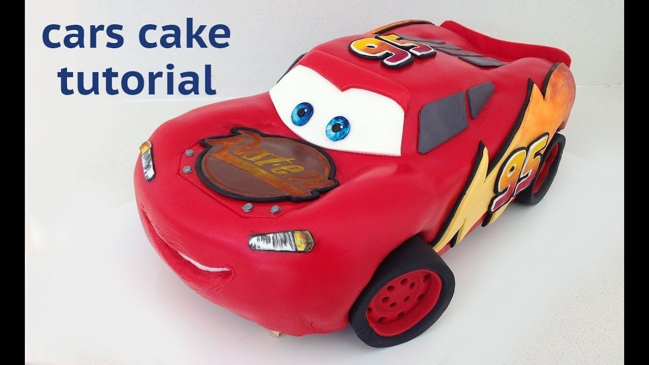 Cars cake tutorial how to cook that disney lightning