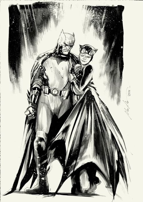 cat and bat by Rafael Albuquerque