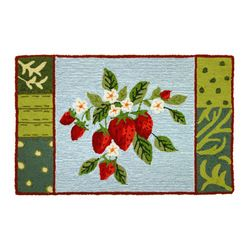 Strawberry Kitchen Rugs What Is