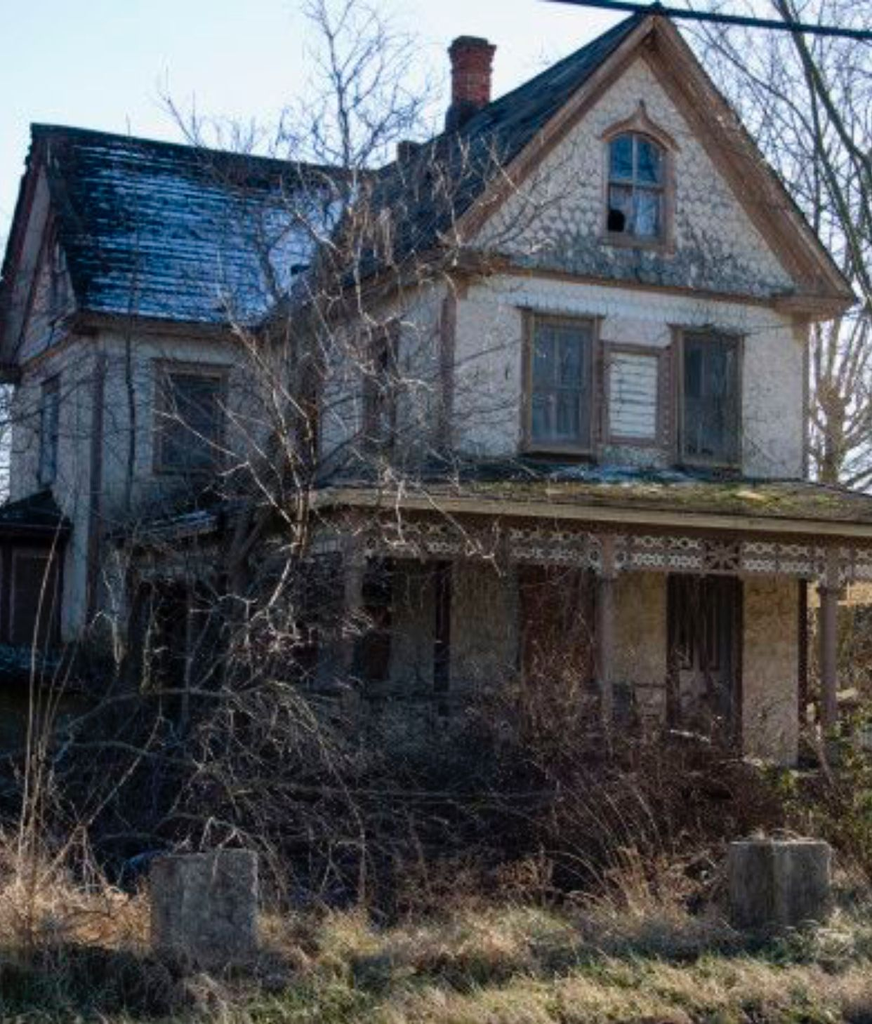 Would Love To See This Classic Farm House Restored To Its