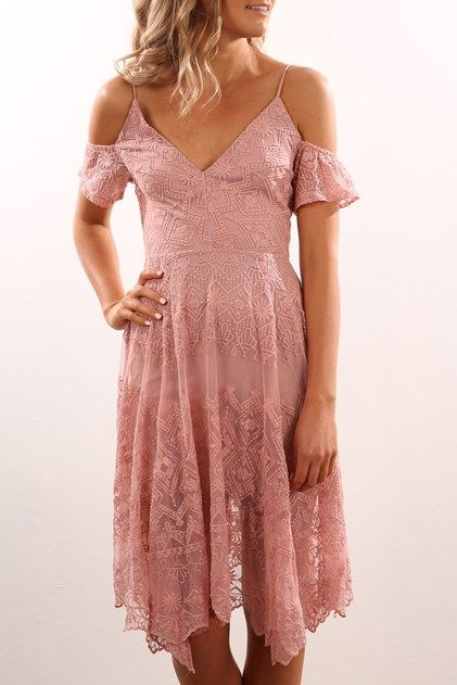 ce020cf74e6 Dili Dress Dusty Pink | DRESSES // JEAN JAIL | Dresses, Jeans dress ...