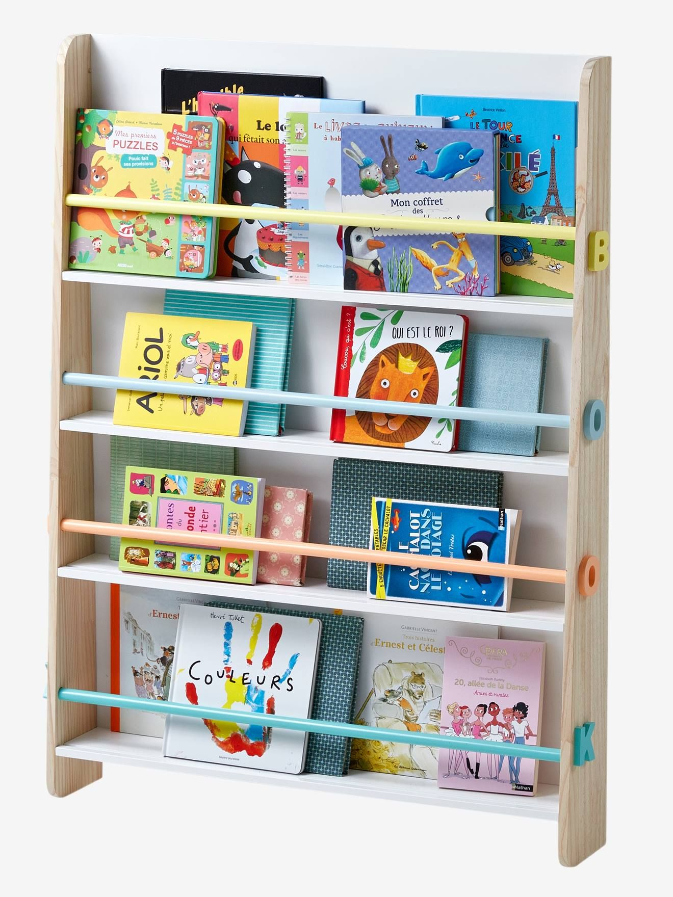 Vertbaudet Bucherregal Books Fur Kinder In Weiss Natur En 2020