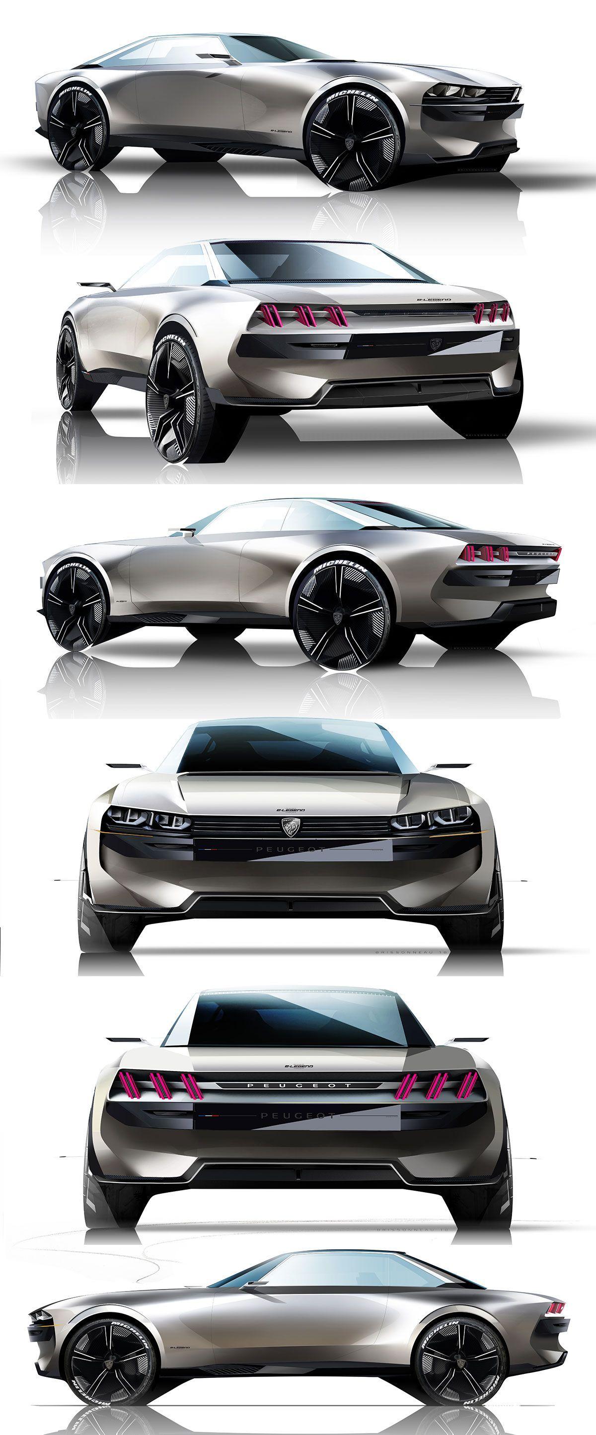 Peugeot E Legend Concept Product Art Pinterest Peugeot
