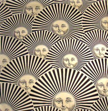 Pin By P M On Sun And Moon Pinterest Wallpaper Illustrations - Piero fornasetti wallpaper designs