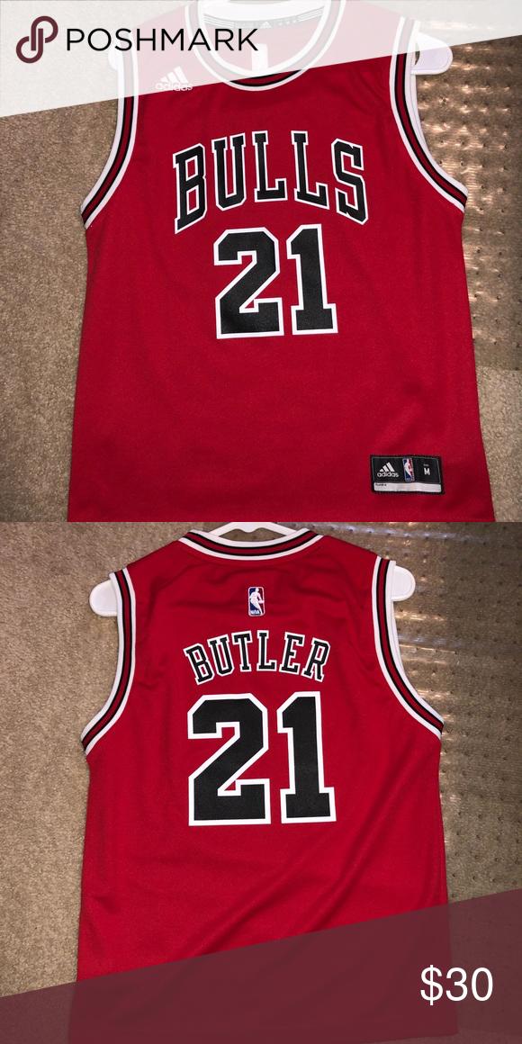 Jimmy Butler bulls jersey Adidas shirt, Red adidas, Tank