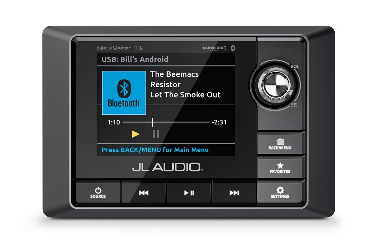 If You Re Looking For A Source Unit For Your Boat Or Powersport Vehicle Then We Ve Got You Covered With Jl Audio S New Mediam Audio Marine Audio Digital Tuner
