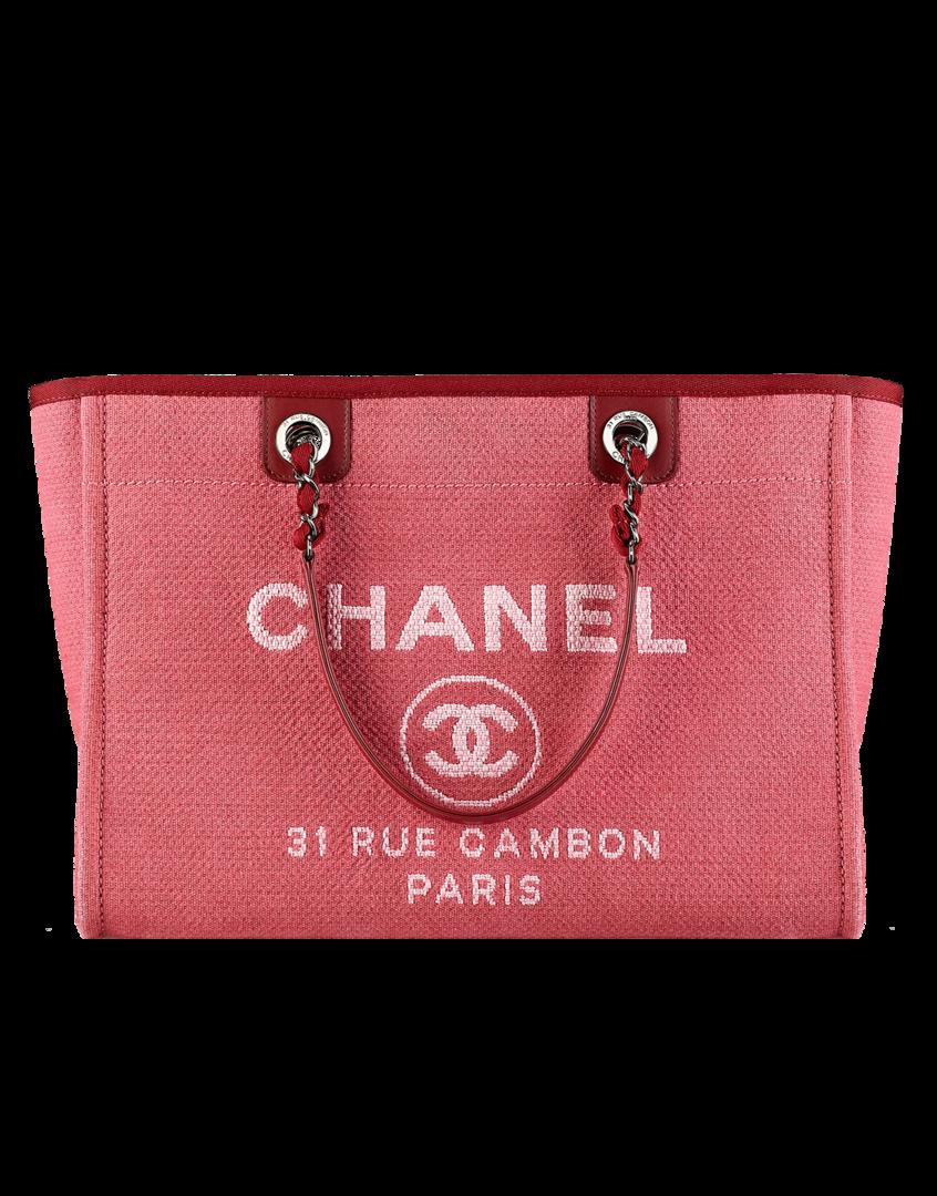 Shopping bag de lona - CHANEL <3