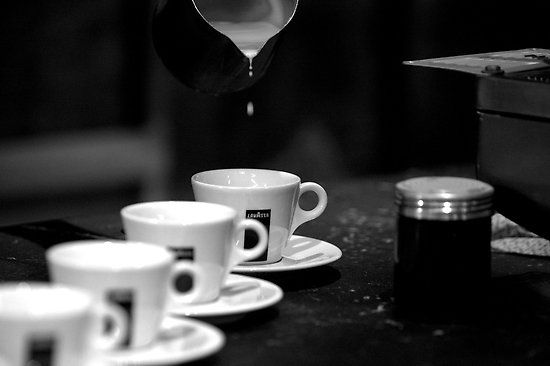 Coffee break! Go get some espresso. When is it not latte time? I want to get this delightful beverage