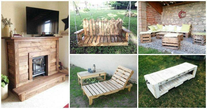 Lovin The Fireplace Pallet Furniture Instructions Diy