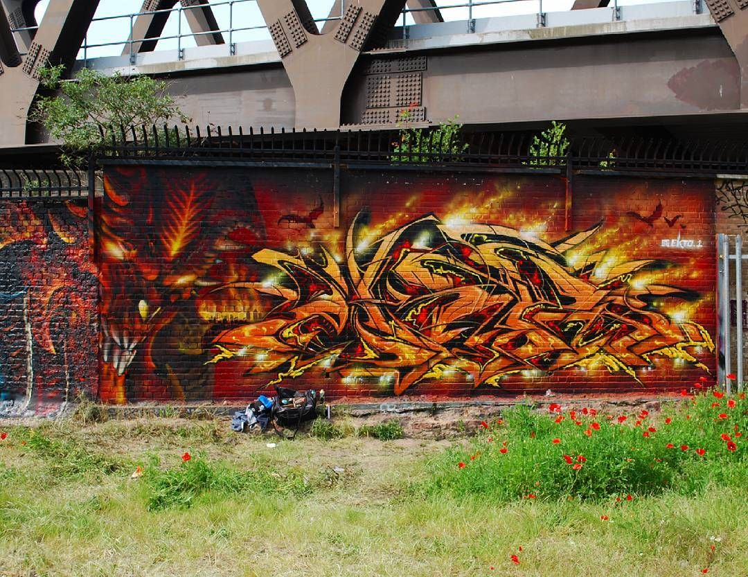Graffiti Art by Ekto 1   Meeting of Styles festival   #StreetArt #Graffiti #UrbanArt #MeetingOfStyles2016 #ArtFest #Ekto1 #PedleyStreet #Shoreditch #London #Nikon #NikonD60 #NikonPhotography #SprayDaily #tv_streetart #rsa_graffiti #dsb_graff #GullySteez #TagLifeGraffiti #NotBanksyForum #MuralsDaily #StreetArtNews #GraffitiLondon #GraffitiUK #StreetArtLondon #StreetArtUK #LondonStreetArt #UkStreetArt #ShoreditchStreetArt #StreetArtEverywhere by apollobelladona from Shoreditch feed from…