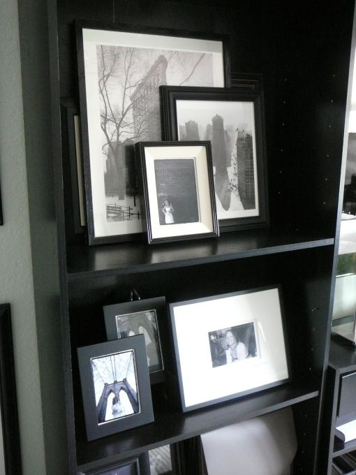 Home Office Bookcase Gallery - NYCLQ @ HGTV.com