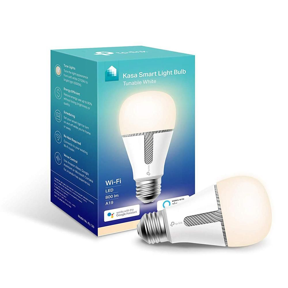 Tp Link 60 Watt Equivalent 10 Watt A19 E26 Smart Led Light Bulb 2700 5000k In Soft White Daylight Kl120 Light Bulb Bulb Dimmable Led Lights