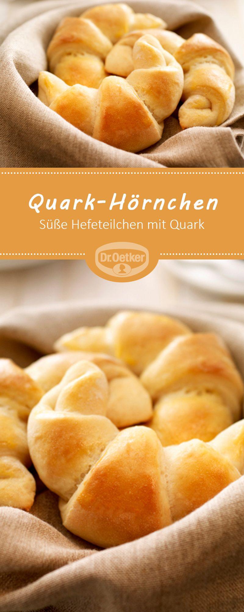 Quark-Hörnchen #brunchideen