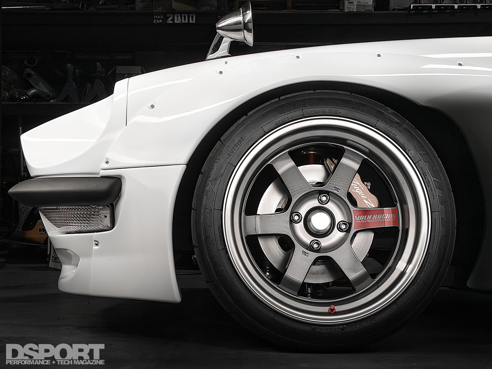 te37v on a datsun 240z | sung kang's fugu Z in kilimanjaro white.