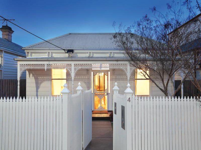 melbourne house colour scheme gal roof white - Australian Victorian Houses