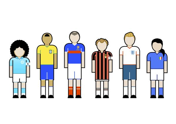 football in memory by audiocad , via Behance