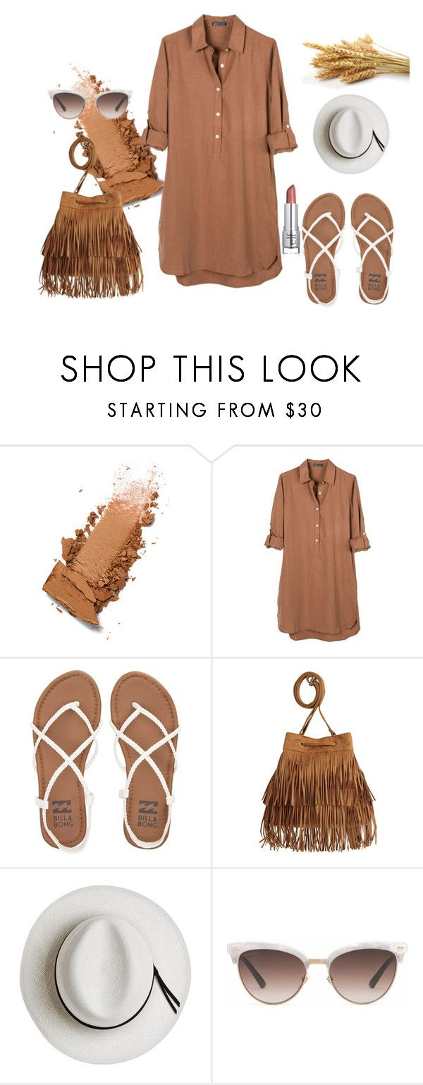 """Untitled #97"" by xxlidorxx on Polyvore featuring United by Blue, Billabong, H&M, Calypso Private Label and Gucci"