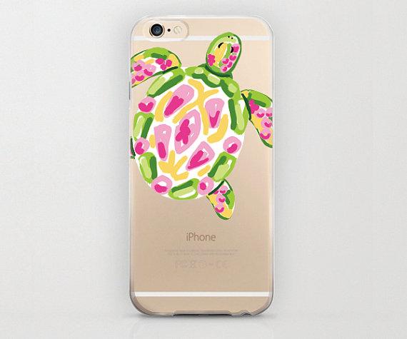 promo code e64f8 ea84a Turtle iPhone 6 Case, Colorful Tortoise, Plastic Phone Case ...