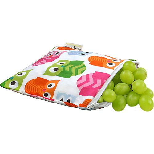 Itzy Ritzy Snack Happens Reusable Snack and Everything Bag Hoot - Itzy Ritzy Diaper and Baby Accessories
