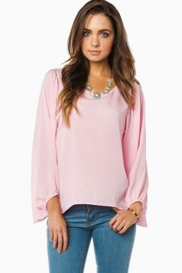 Tracey Blouse in Pink