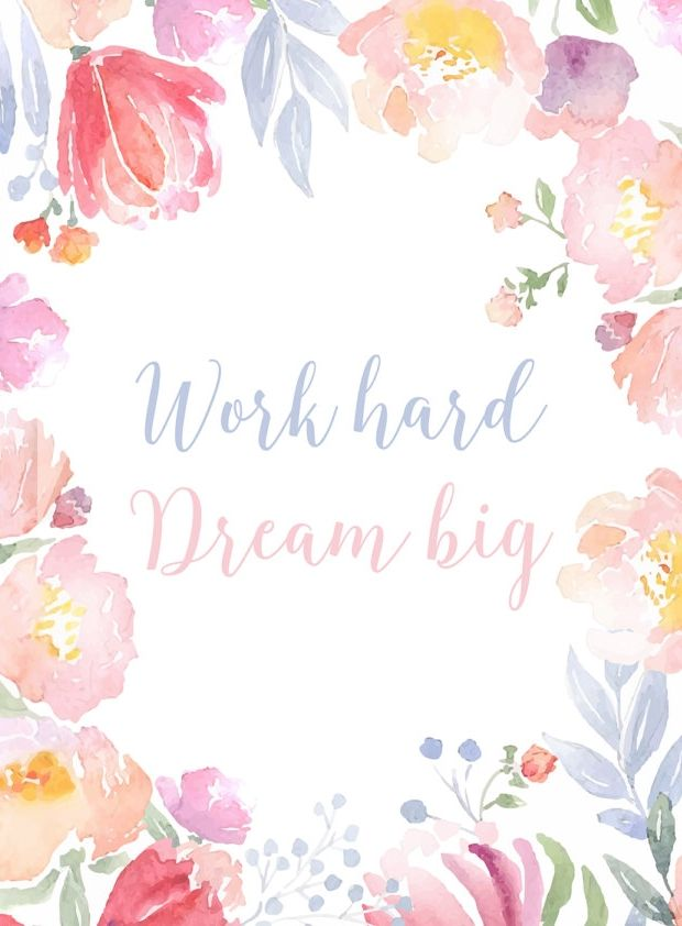 Work Hard Dream Big Wallpapers Phone Covers Inspirational