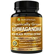 Amazon com: Customer reviews: Organic Ashwagandha Vegetarian