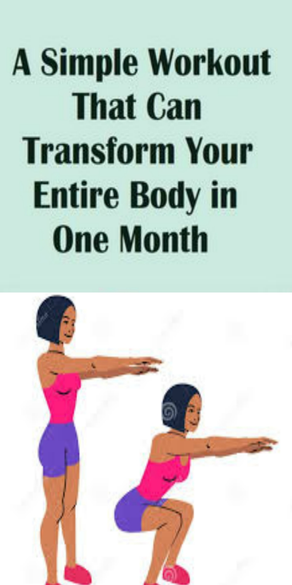 A Simple Workout That Can Transform Your Entire Body In