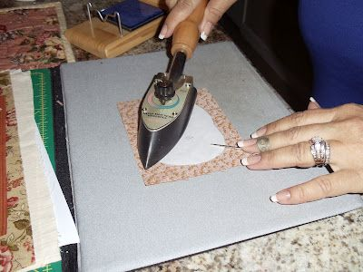 Starch and freezer paper method of hand applique and great tools