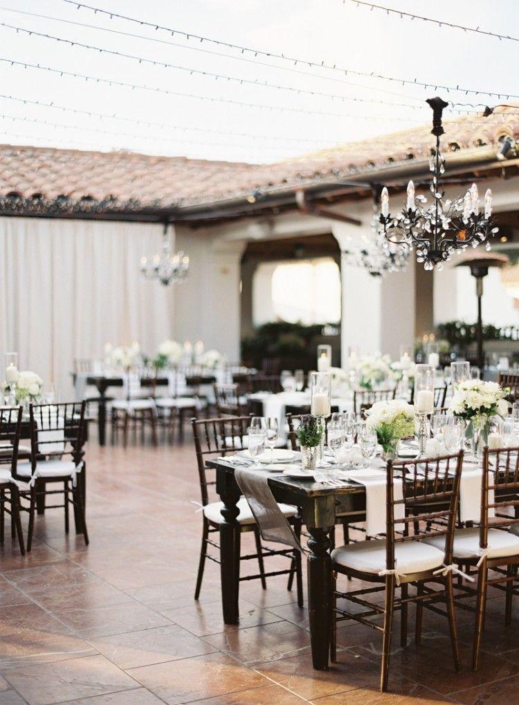Bacara Wedding Sneak Peek Bacara Wedding Wedding Dinner Decor Wedding