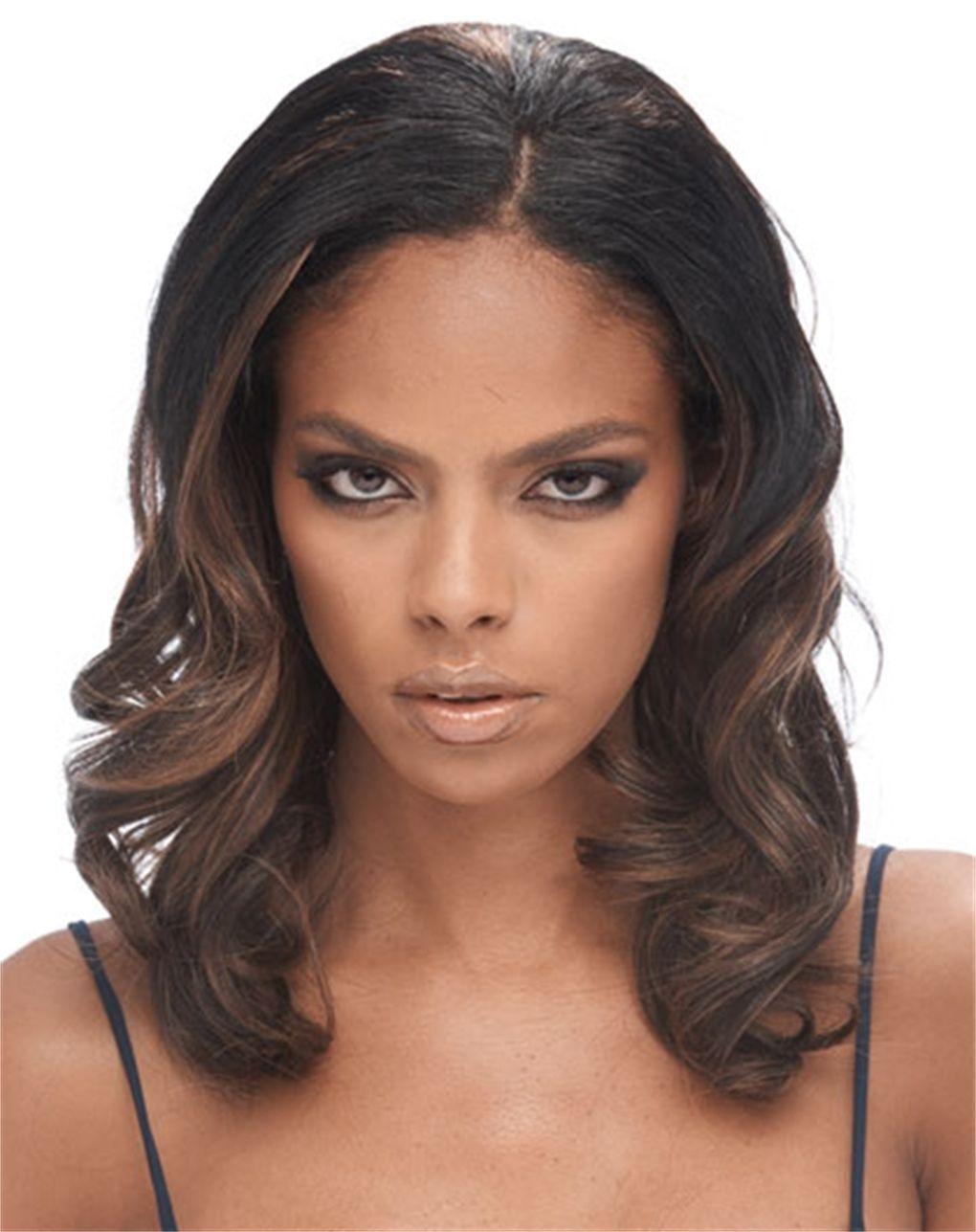 12.99 Femi Model Human Hair Premium Blend Body Wave